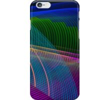 Abstract Colours Long Exposure Phone Case 3 iPhone Case/Skin