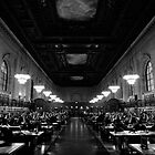 New York Public Library by Mark Wilson