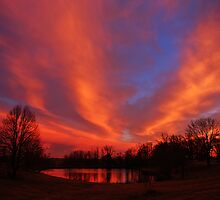 Lake On Fire by kentuckyblueman
