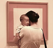 Mother and babe at MOMA by garryr