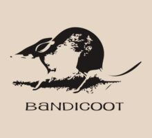 Bandicoot Silhouette by SuperDeathGuy