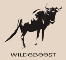 Wildebeest by SuperDeathGuy