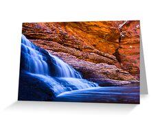 Garden of Eden Waterfall Greeting Card