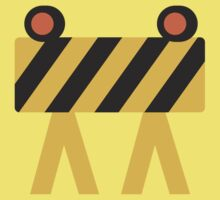 Construction Sign Google Hangouts / Android Emoji Kids Clothes