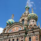 Church in St. Petersburg, Russia by John  Lambert