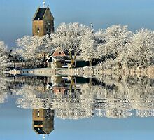 NATURES WINTER MIRROR # 2 by Johan  Nijenhuis