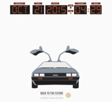 Back To The Future 'Roads' 2015 Edition T-Shirt