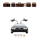 Back To The Future 'Roads' 2015 Edition by Hello I'm Nik