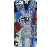 All eyes on bunny iPhone Case/Skin