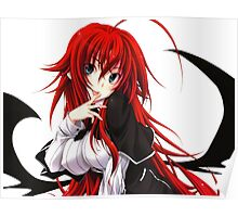 Anime Highschool DxD - Rias Gremory Poster