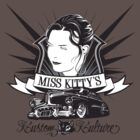 Miss Kitty Kustom T-Shirt by satansbrand