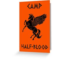 Camp Half-Blood (Distressed) Greeting Card