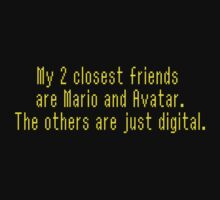 Me, Mario and Avatar by speechless