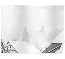 Snowy Nature II Poster