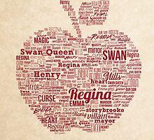 Regina Typography by QueerMerch