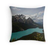 Banff National Park, Peyto Lake Throw Pillow