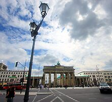 Berlin - Brandenburg Gate by mmarco1954