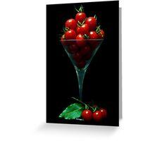 Tomato Juice Greeting Card
