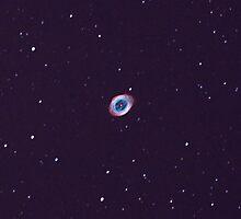 m57 ring nebula by 3rdrock