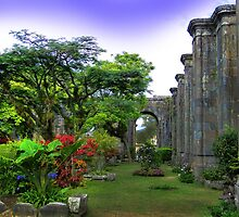 Oldest Church In Cartago, Costa Rica III by Al Bourassa