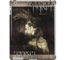 HOEST OF TAAKE - Extreme Norwegian Black Metal - Brown Grunge iPad Case/Skin