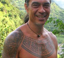 Body Art on Tahitian Guide by Laurel Talabere