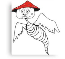 Death-cap mushroom bug Canvas Print