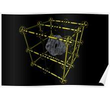 Cubenoid caging Poster