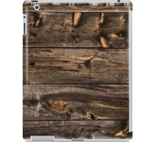 Weathered Wooden Abstracts – 4 – Vertical iPad Case/Skin