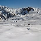 Off piste in Val d'Isere by Peak Photographics
