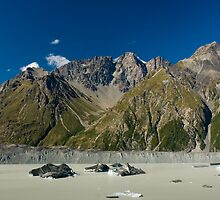 glacier lake panorama by peterwey