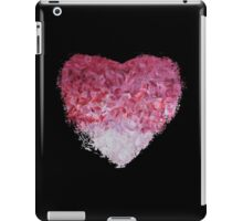 go back to the world - Abstract Heart Art - Pink iPad Case/Skin