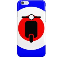 Scooter target - Mods iPhone Case/Skin