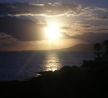 Sunset, Lanzarote by chico123