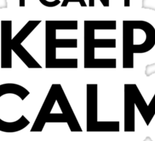 I cant keep calm Im a MERGEL Sticker