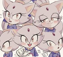 Blaze the Cat (Sonic the Hedgehog) by SonicIsFree
