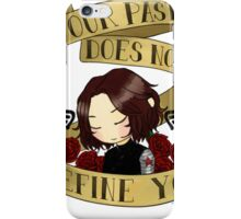 bucky says forgive yourself iPhone Case/Skin