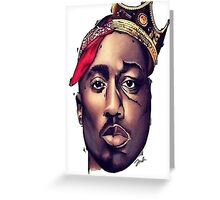 Tupac vs Biggie Greeting Card