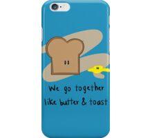 We go together... iPhone Case/Skin