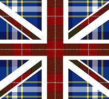 Tartan Union Jack by masterchef-fr