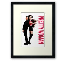 A Plastic World - Pretty Woman Framed Print