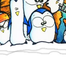 Penguination - 1 Penguin 1 Vote Sticker