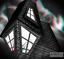 PSYCHO LEGACY CARD 6 by Gavin  North