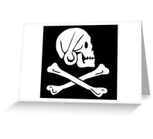 Henry Every Pirate Flag Greeting Card