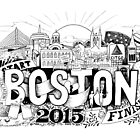 Boston Marathon 2015 by SMDS