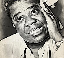 Louis Armstrong by Prussia