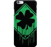 Dripping Irish Shamrock St. Patrick's Day iPhone Case/Skin
