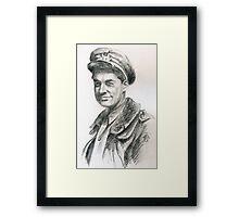 Mario Aimi - il pilota della croce di ferro Framed Print