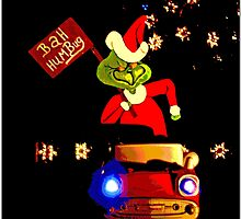 Happy Grinchmas by Chet  King