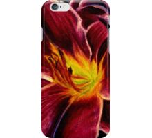 Red lilies iPhone Case/Skin